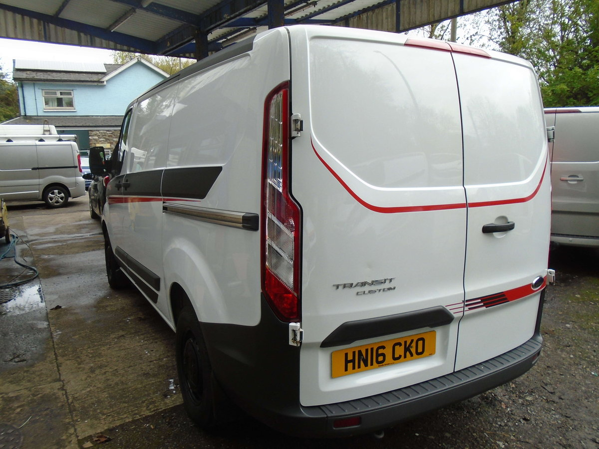 2016 Ford Transit Custom 2.2TDCi ( 100PS ) 290 M SPORT STYLE For Sale (picture 4 of 6)