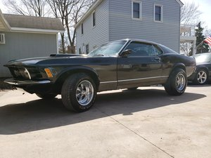 Real Deal 1970 Ford Mustang Mach 1  For Sale