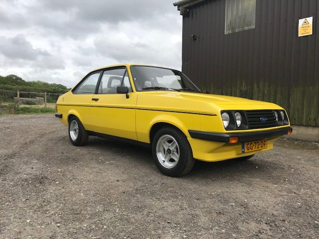 1980 Ford Escort Mk2 Rs2000 Unrestored Car For Sale Car And Classic