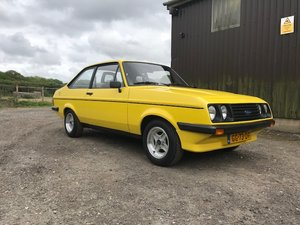 Ford Escort mk2 RS2000... Unrestored car