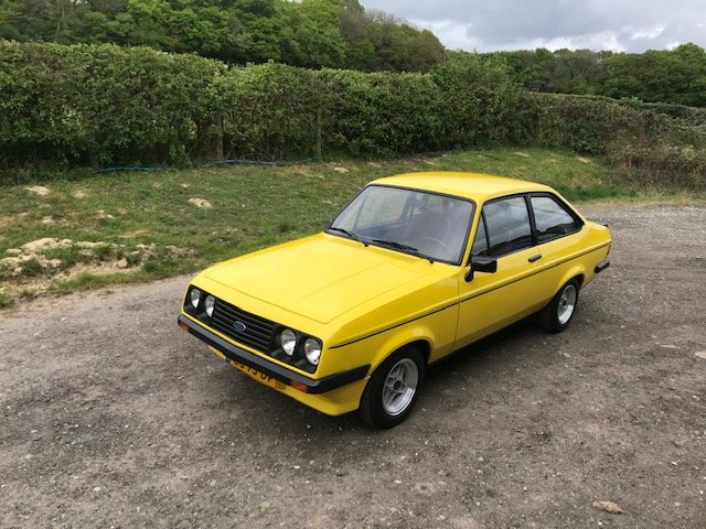 1980 Ford Escort mk2 RS2000... Unrestored car  For Sale (picture 2 of 6)