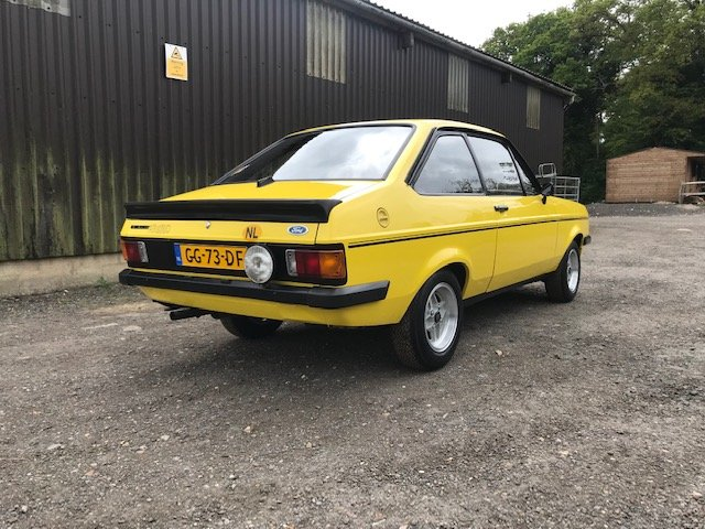 1980 Ford Escort mk2 RS2000... Unrestored car  For Sale (picture 5 of 6)