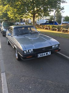 1986 FORD CAPRI 2.8I SPECIAL For Sale