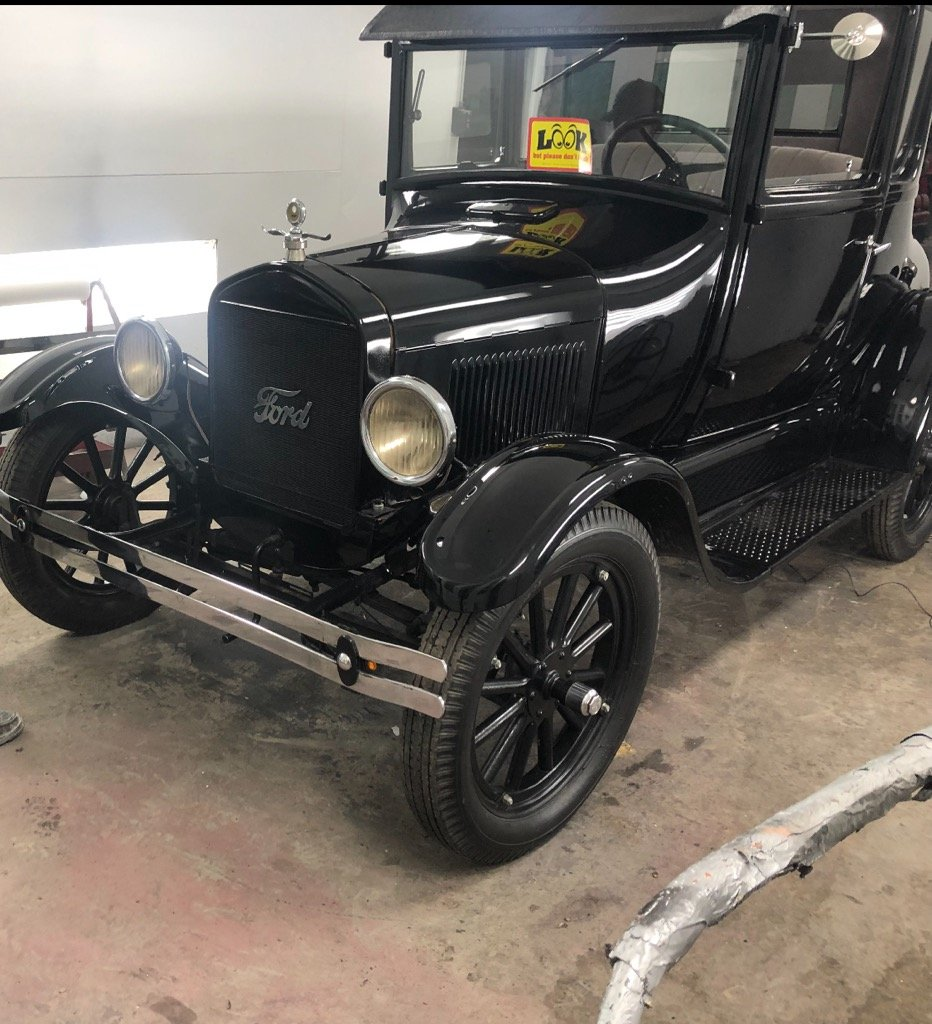 1926 Ford Model T Coupe For Sale (picture 1 of 6)
