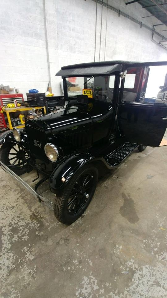 1926 Ford Model T Coupe For Sale (picture 2 of 6)