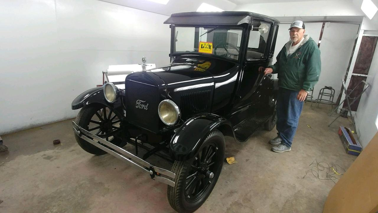 1926 Ford Model T Coupe For Sale (picture 6 of 6)