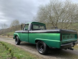 1965 Ford F100 shortbed High Performance 352 V8 UK For Sale
