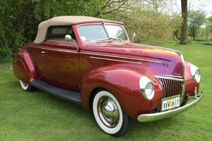 1939 Ford V8 Coupe de Lux Convertible  For Sale