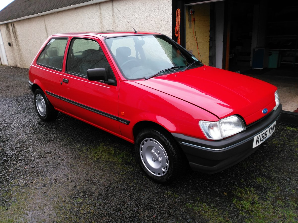 1993 Ford Fiesta 1.1LX For Sale (picture 5 of 6)