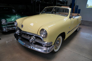 1951 Ford Custom DeLuxe 239 V8 Convertible  SOLD