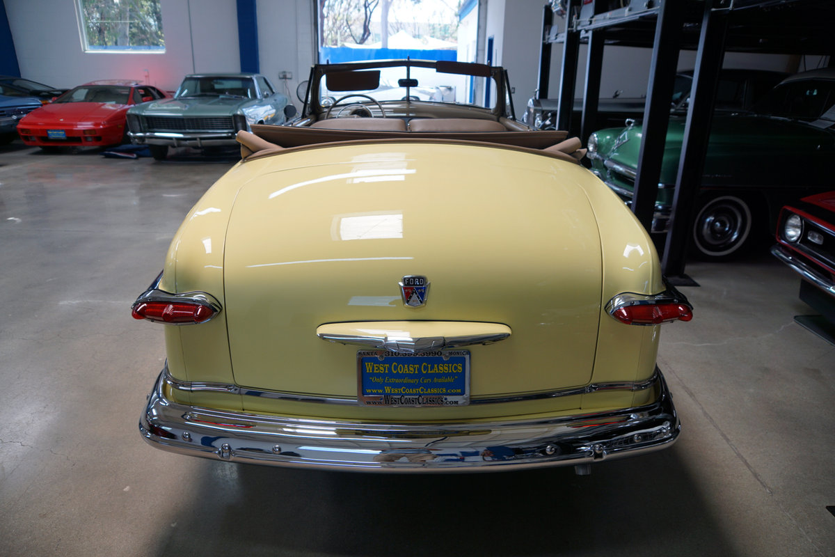 1951 Ford Custom DeLuxe 239 V8 Convertible  For Sale (picture 4 of 6)