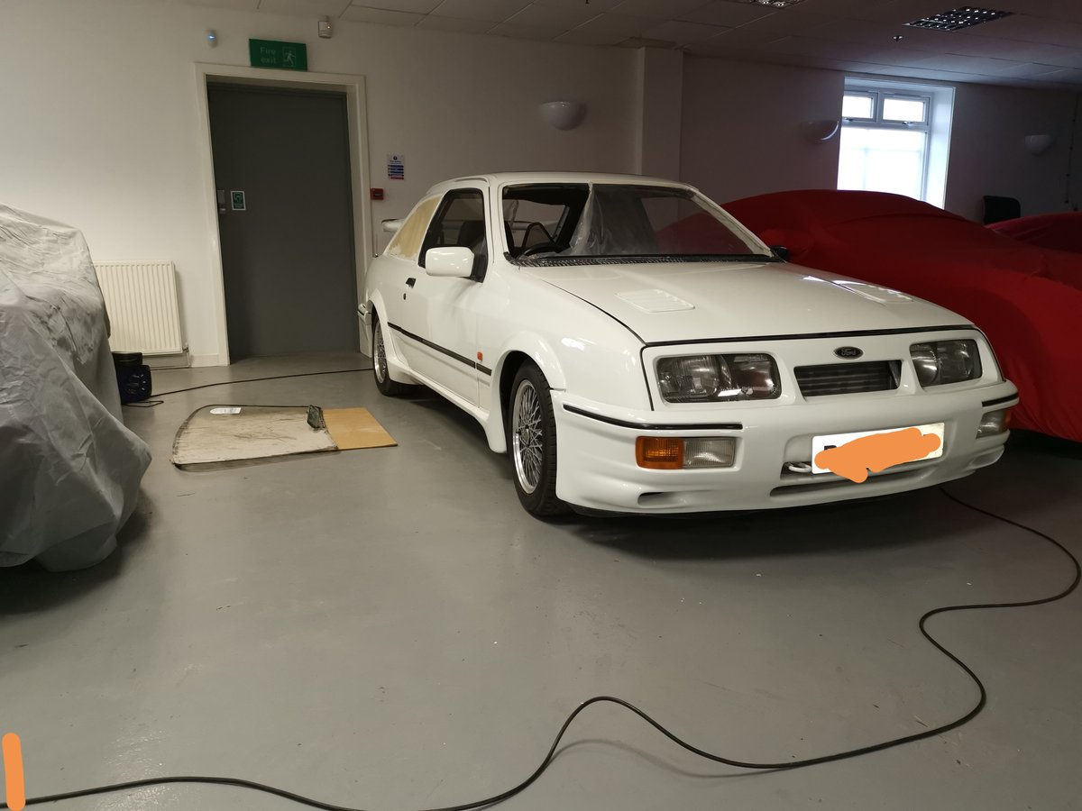 1986 Ford Sierra Rs Co's worth restoration For Sale (picture 1 of 3)
