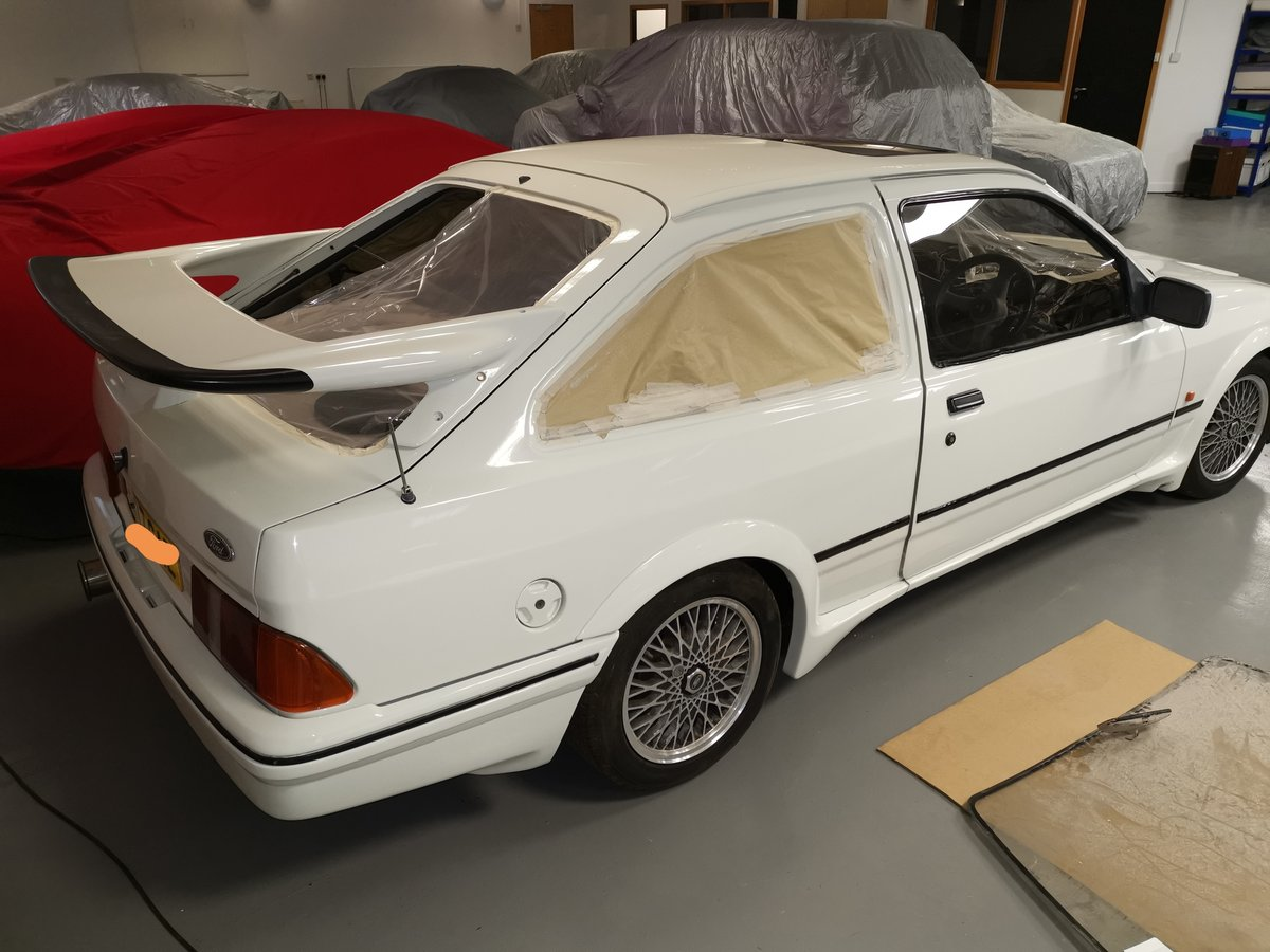 1986 Ford Sierra Rs Co's worth restoration For Sale (picture 2 of 3)