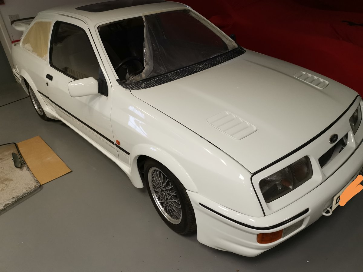 1986 Ford Sierra Rs Co's worth restoration For Sale (picture 3 of 3)