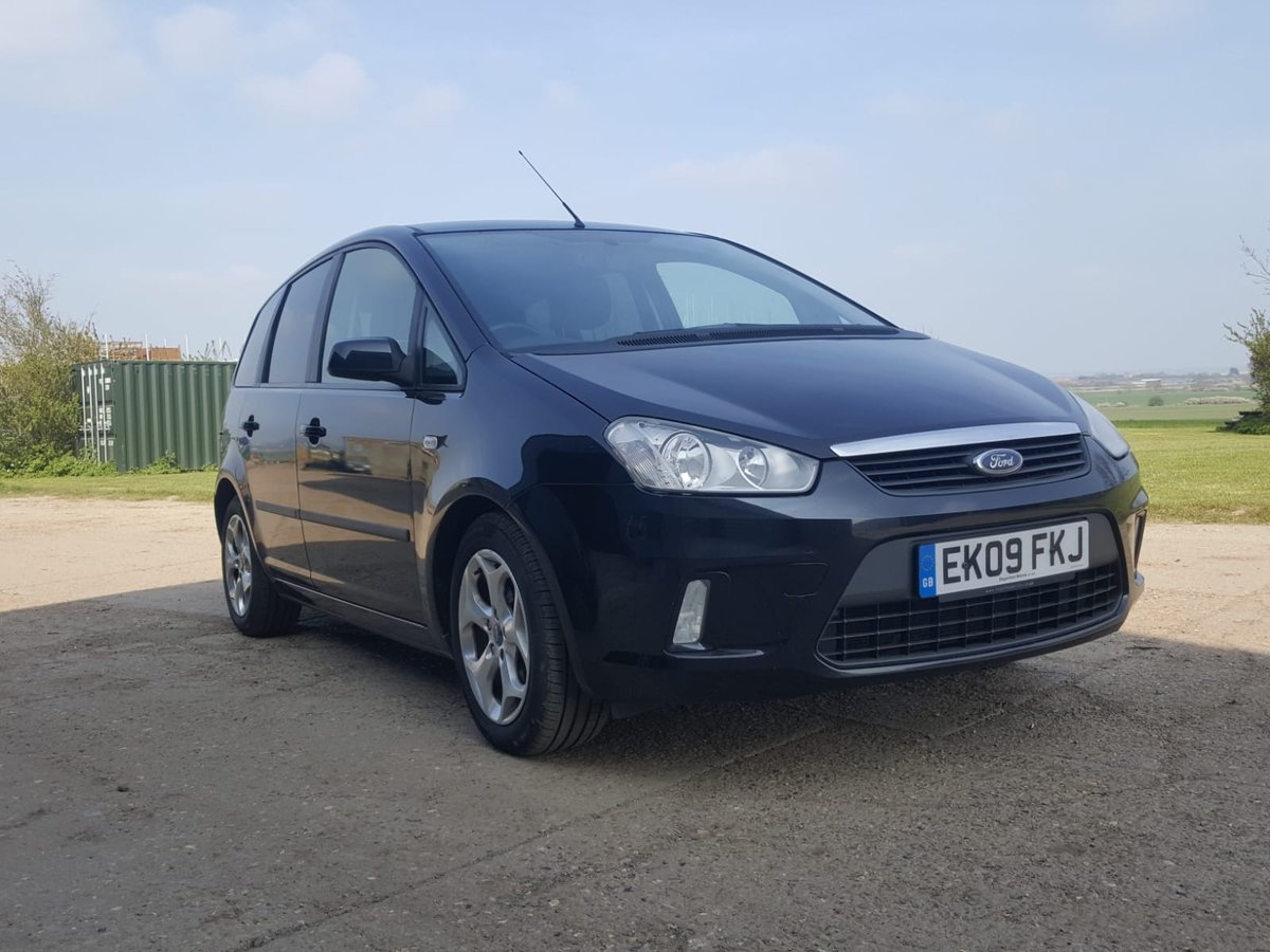 2009 Ford C-Max 1.8 Zetec Petrol For Sale (picture 1 of 6)
