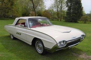 1963 Ford Thunderbird 390Ci V8 Convertible Automaticf