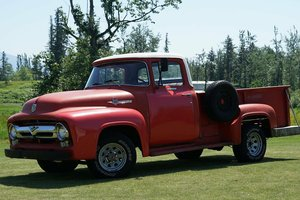 1956 FORD F100 PICKUP FACTORY V8 For Sale
