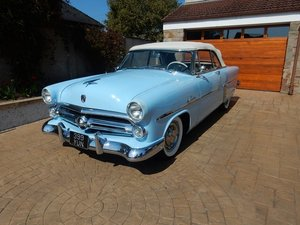 1952 Ford Crestline Sunliner LHD at Morris Leslie Auction For Sale by Auction