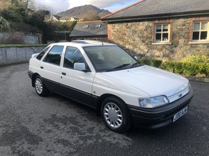 1992 Escort 1.4LX only 62,000 miles from new For Sale