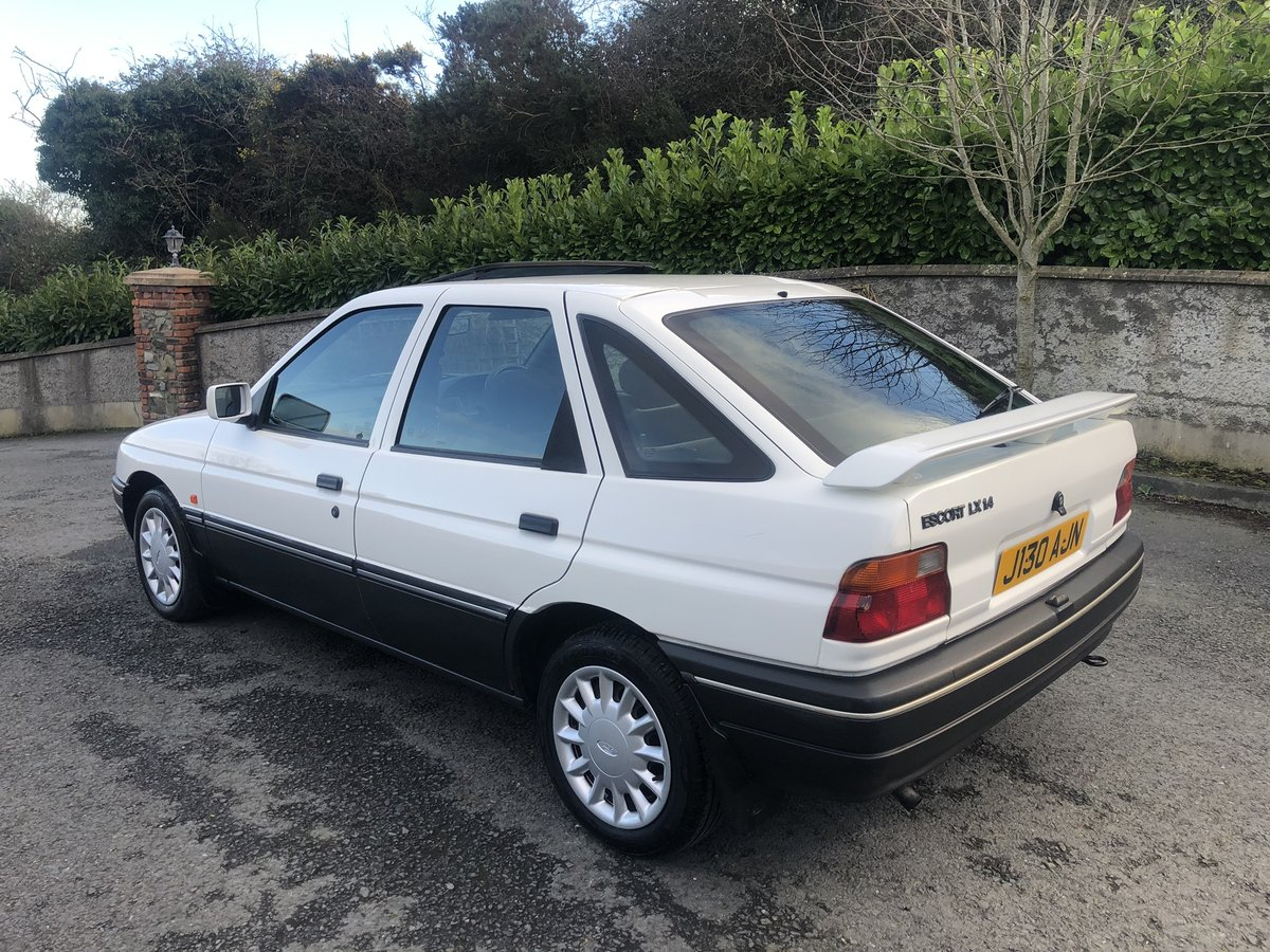1992 Escort 1.4LX only 62,000 miles from new For Sale (picture 2 of 6)