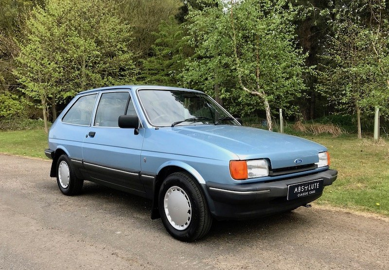 1984 Ford Fiesta 1.1 Ghia - only 65k miles - beautiful condition SOLD (picture 1 of 6)