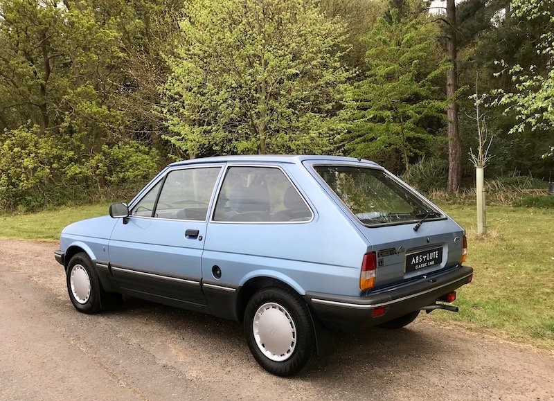 1984 Ford Fiesta 1.1 Ghia - only 65k miles - beautiful condition SOLD (picture 2 of 6)