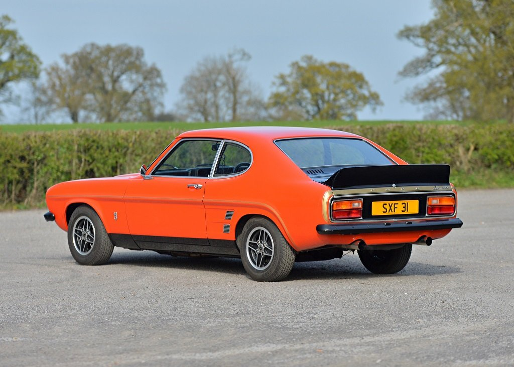 1974 Ford Capri RS 3100 SOLD by Auction (picture 1 of 6)