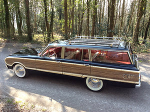 1962 Ford Falcon Squire woodie wagon SOLD