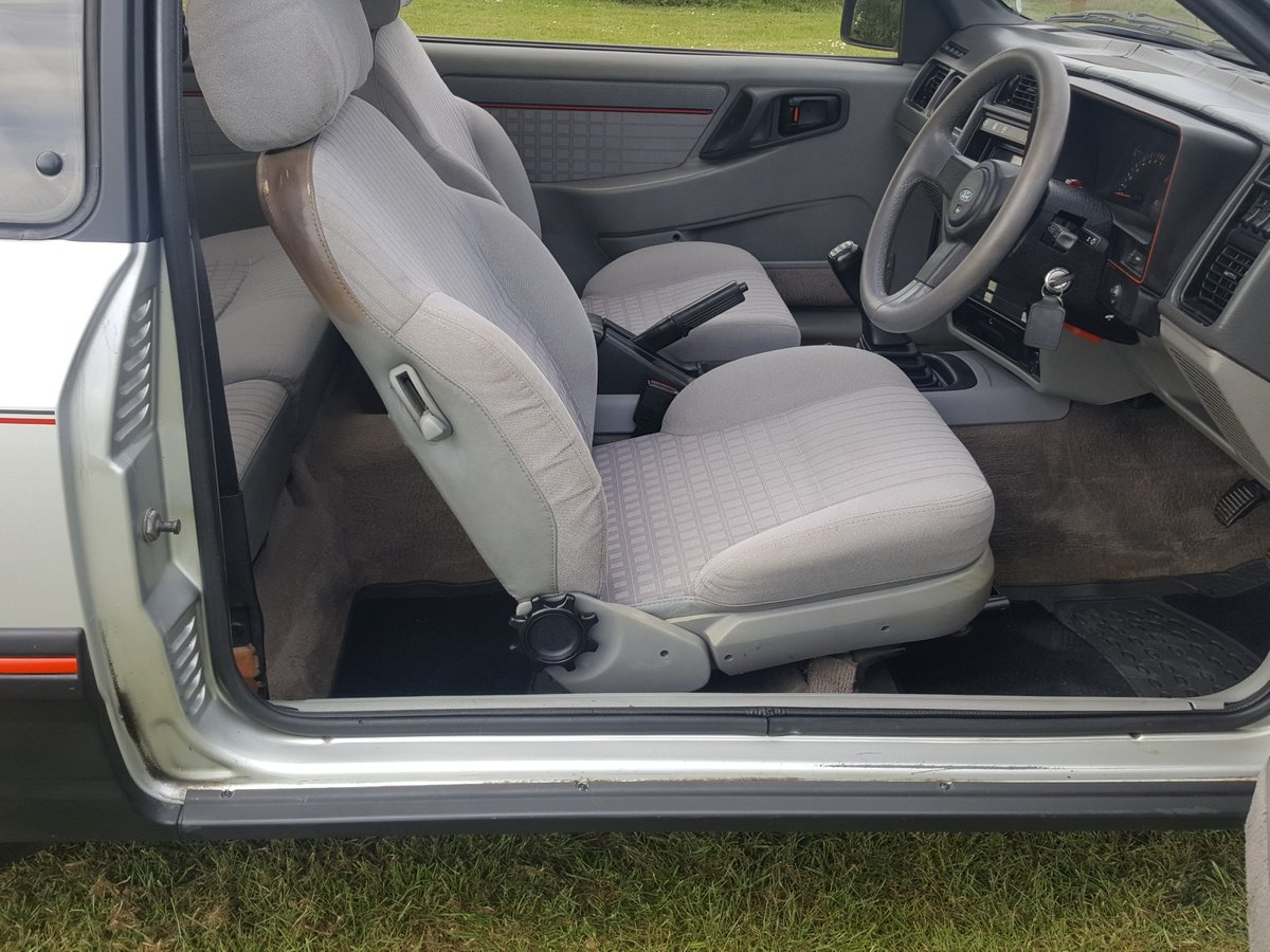 1983 Ford sierra XR4i in lovely condition For Sale (picture 3 of 6)
