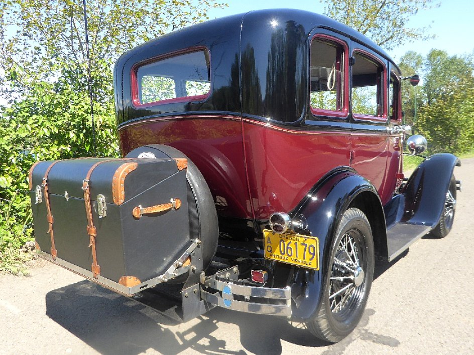 1931 Ford Sedan = Clean Restored Burgundy(~)Grey $21.5k  For Sale (picture 3 of 6)