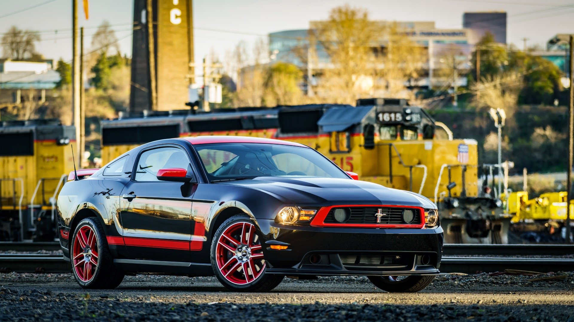 2012 Ford Mustang Boss 302 = Rare 1 of 767 Black Manual $48k For Sale (picture 1 of 6)