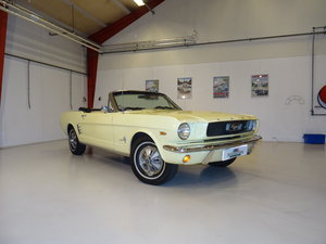 1966 Ford Mustang 2dr Convertible - matching numbers car For Sale