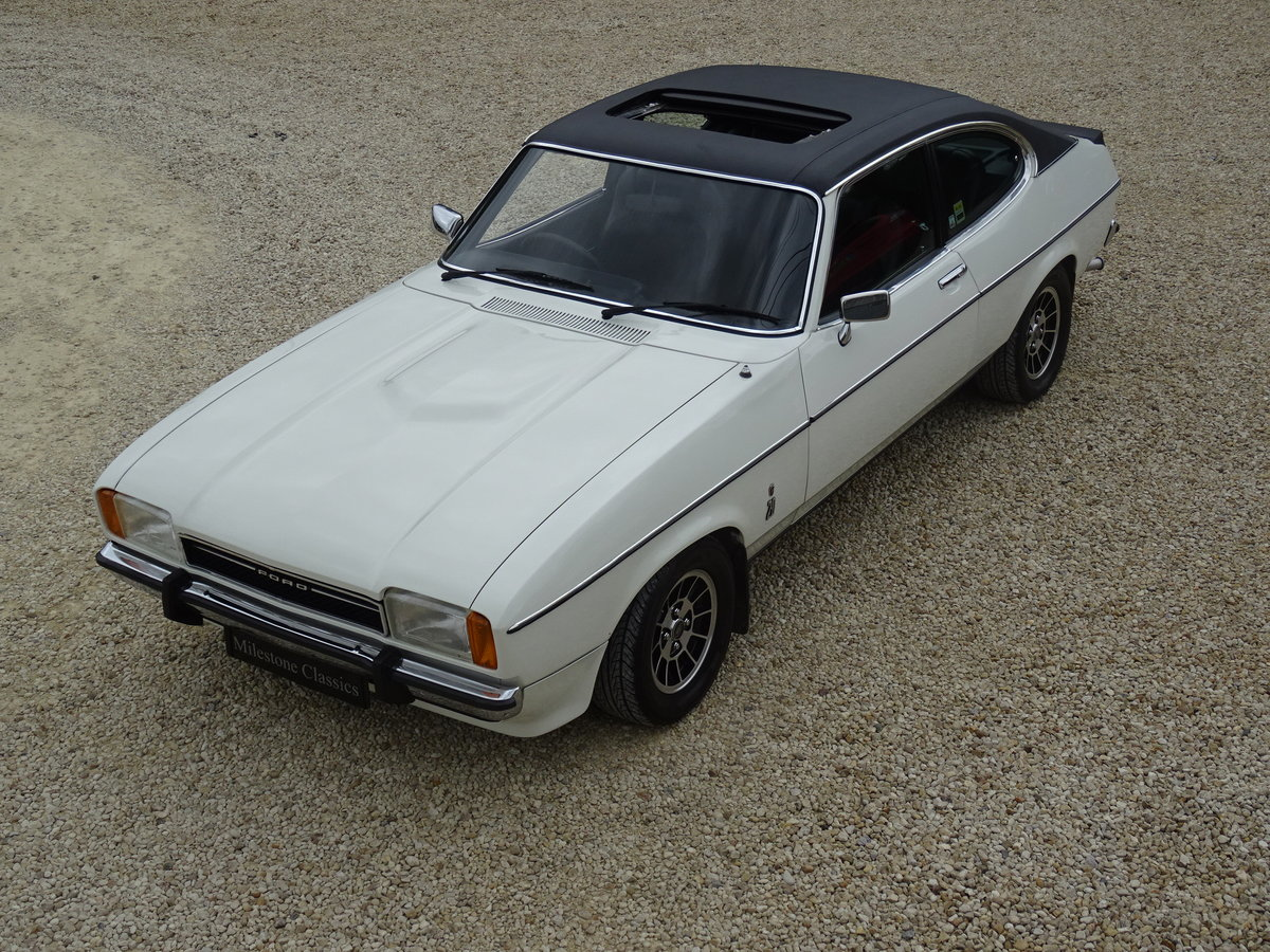 Ford Capri MkII Ghia – Fully Restored/Show Car For Sale (picture 1 of 6)