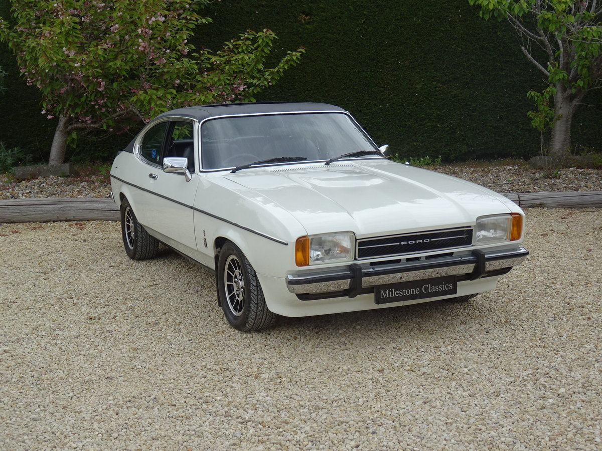 Ford Capri MkII Ghia – Fully Restored/Show Car For Sale (picture 2 of 6)