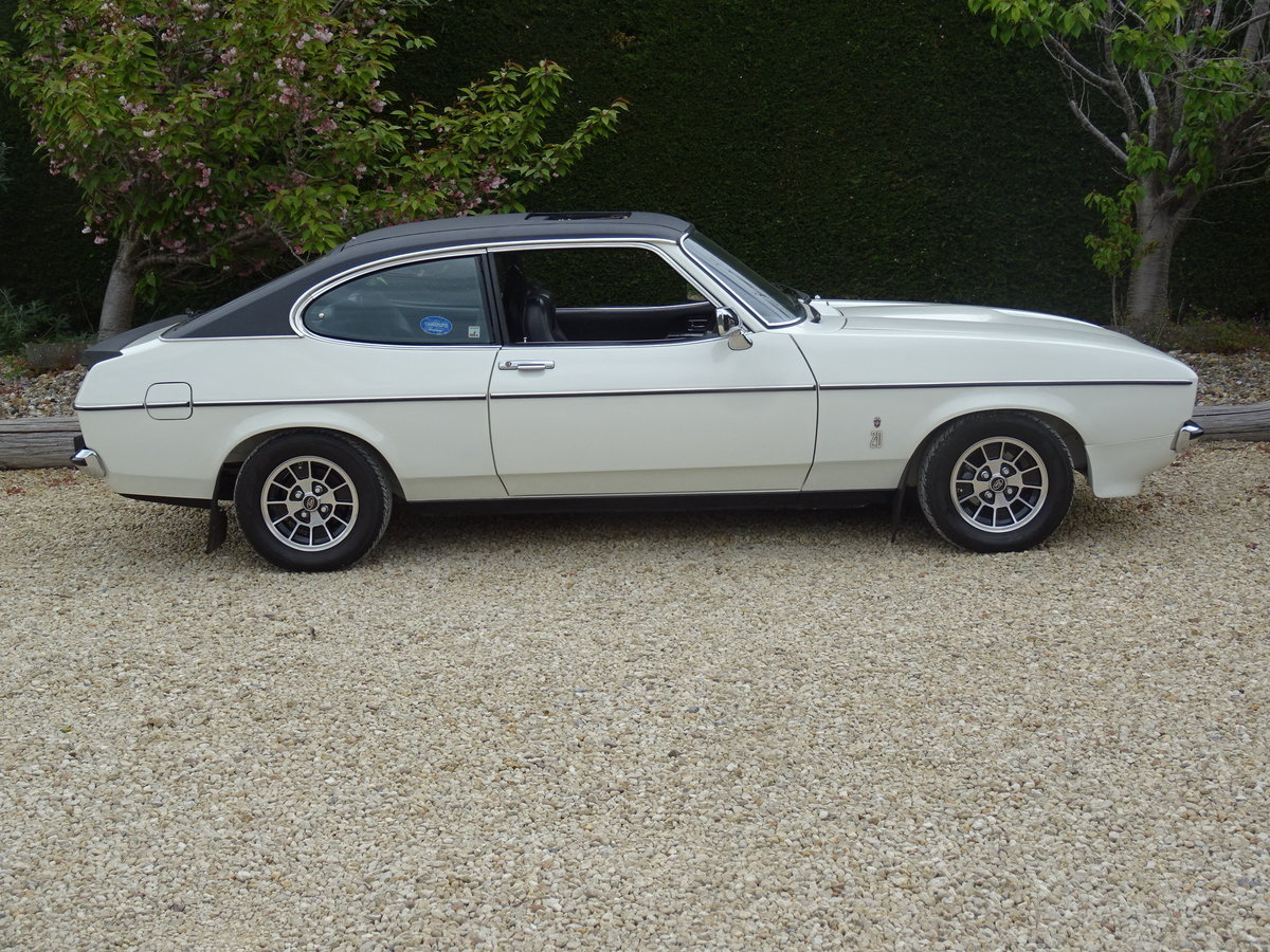 Ford Capri MkII Ghia – Fully Restored/Show Car For Sale (picture 3 of 6)