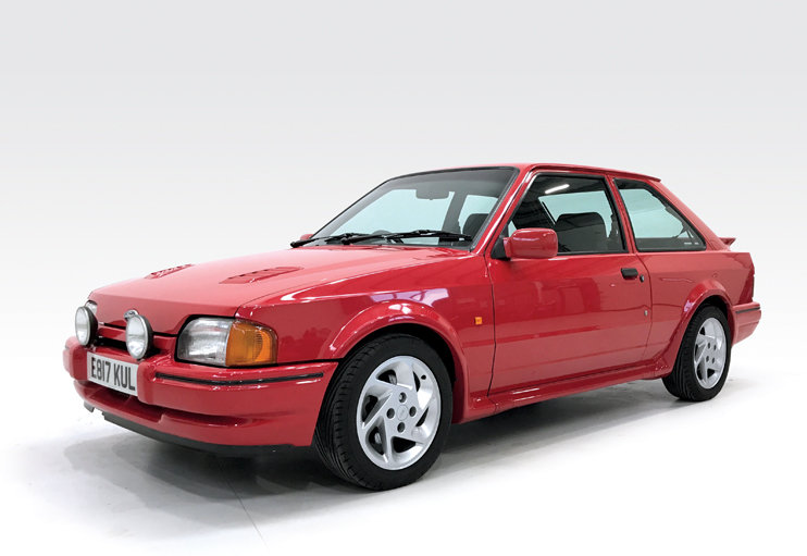 1987 Ford Escort RS Turbo DEPOSIT TAKEN SOLD (picture 1 of 6)