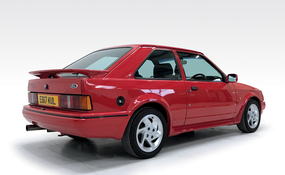 1987 Ford Escort RS Turbo DEPOSIT TAKEN SOLD (picture 2 of 6)