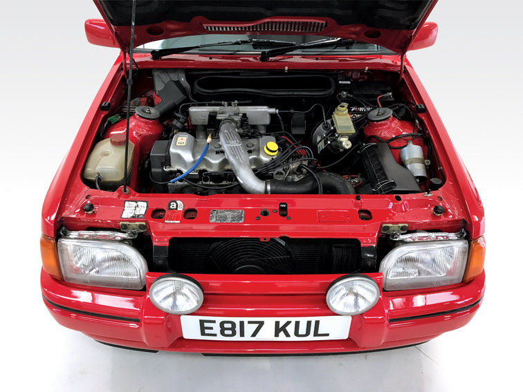 1987 Ford Escort RS Turbo DEPOSIT TAKEN SOLD (picture 3 of 6)