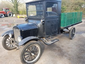 1923 Model T Ton Truck   UK Registered