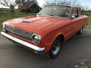 1963 FORD RANCHERO 260 V8 4 SPD MANUAL For Sale