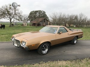 "1972 FORD RANCHERO 500 429 C6 9"" REAR MAGNUMS T/A'S MARTI RE For Sale"