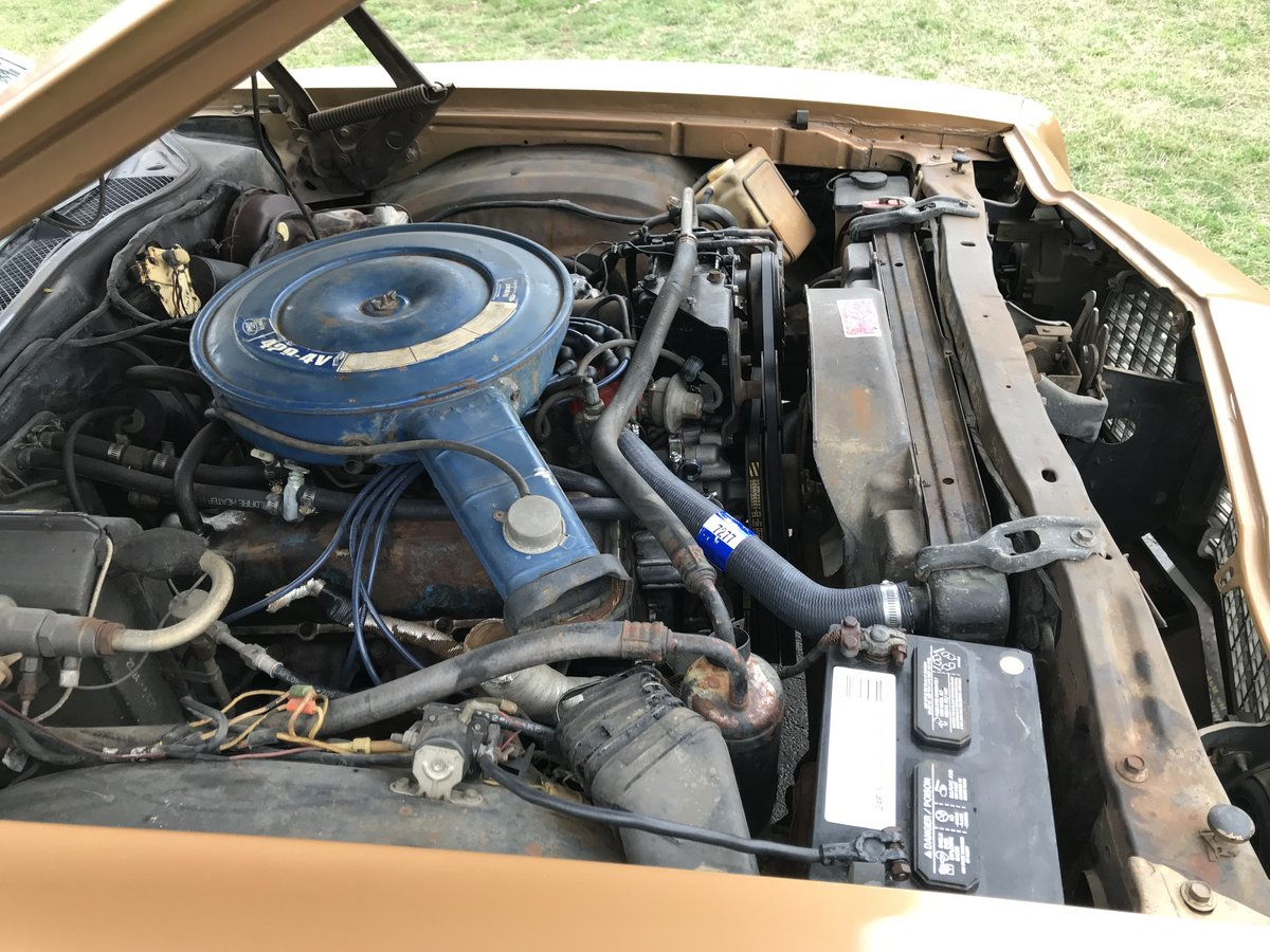 "1972 FORD RANCHERO 500 429 C6 9"" REAR MAGNUMS T/A'S MARTI RE For Sale (picture 5 of 6)"