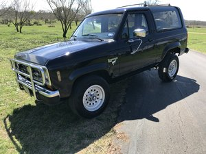 1988 FORD BRONCO II XLT 4 X4 For Sale