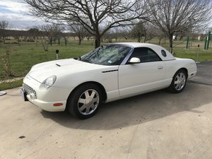 2002 FORD THUNDERBIRD, 18K MILES, 2 TOPS For Sale