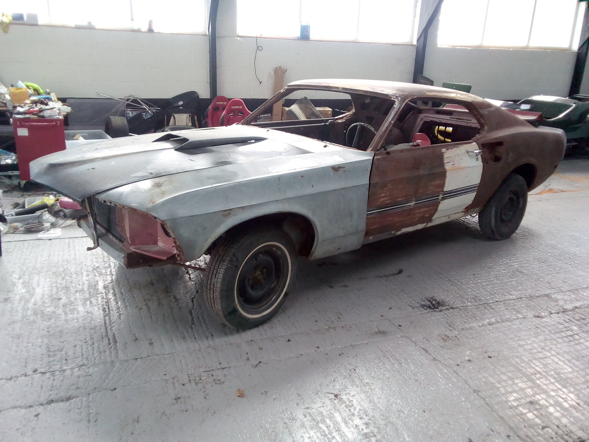 1969 Mustang Mach 1 428 Cobra Jet Project For Sale (picture 1 of 6)