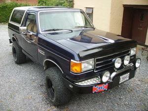 Ford Bronco XLT 1986 Eddie Bauer Special Edition