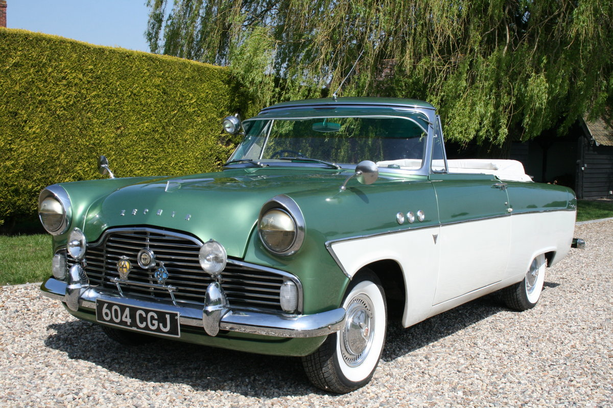 1961 MK2 Zephyr Zodiac Convertible. NOW SOLD.MORE CLASSIC FORDS  Wanted (picture 1 of 6)