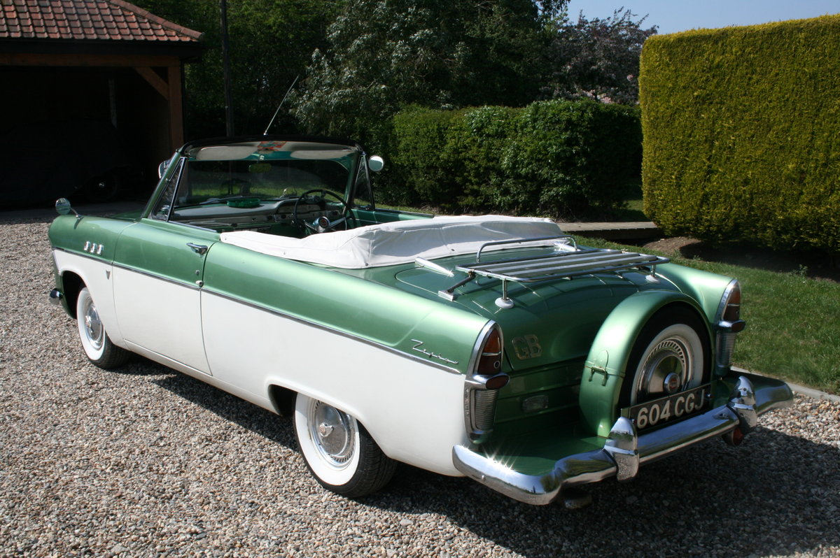 1961 MK2 Zephyr Zodiac Convertible. NOW SOLD.MORE CLASSIC FORDS  Wanted (picture 2 of 6)