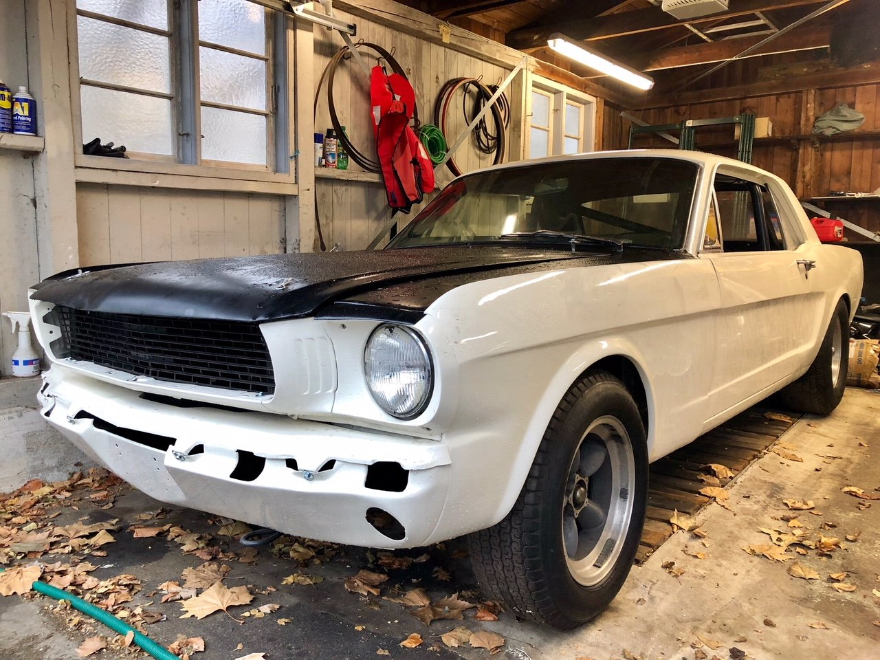 1965 Mustang Racecar project For Sale (picture 1 of 5)