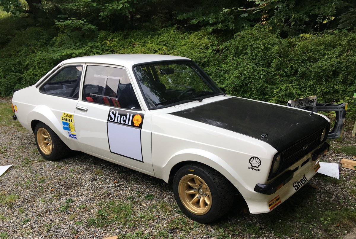 1978 Rally Escort Zetec gr4 SOLD (picture 1 of 4)
